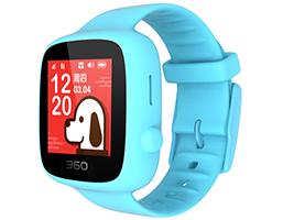 购买权竞拍—1元得360儿童电话手表天空蓝