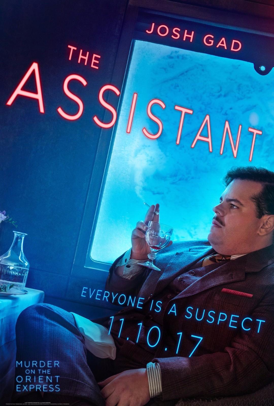 《东方快车谋杀案》角色海报发布 德普领衔超豪华卡司