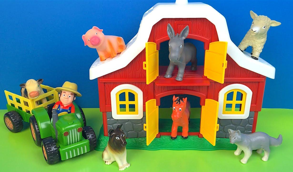 乐高农场的小动物们碉堡天 玩具彩虹屋