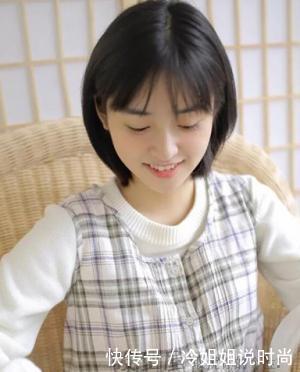 圆脸短发适合的大全女生,简直女生照片就是发型韩国单眼皮短发瘦脸图片