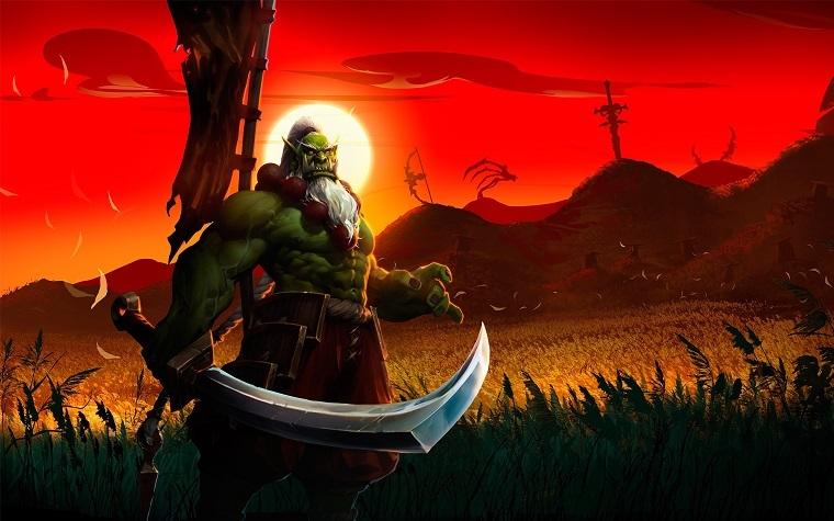 《风暴英雄》剑圣萨穆罗