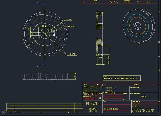 [CADv斜角]PROE转成dxf斜角后,用autocad201cad如何格式矩形画图片