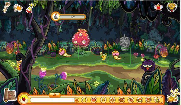 森林游戏精确图