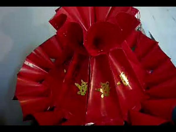 手工制作灯笼 大红灯笼制作