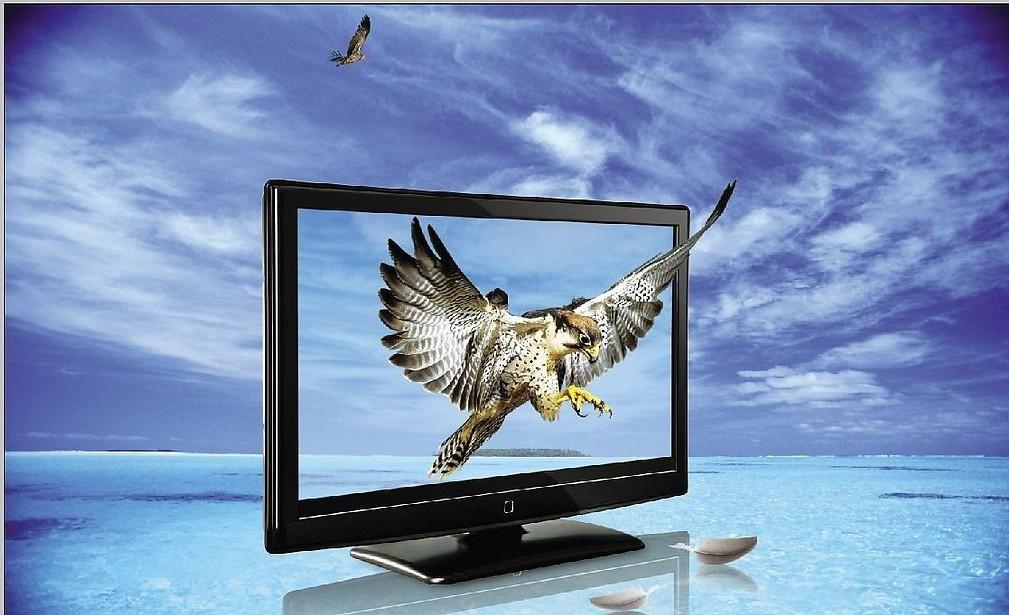 电视斜屏幕图 ps 素材