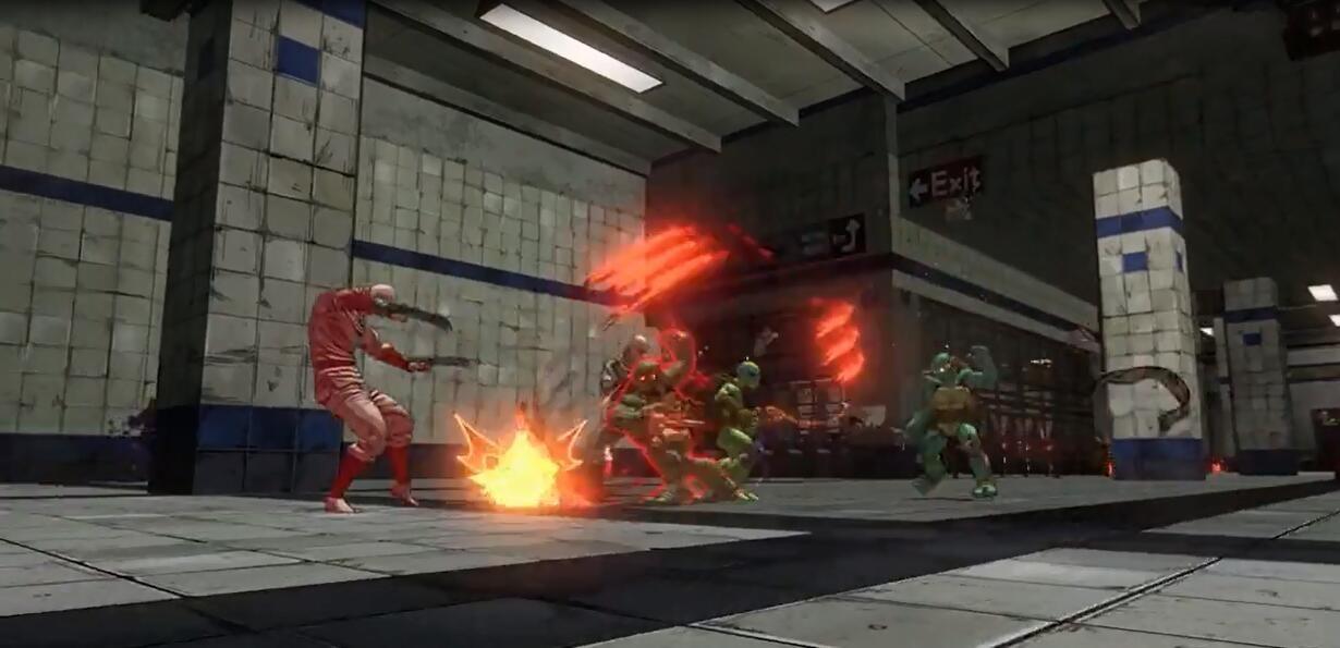 《忍者神龟》发售宣传PV