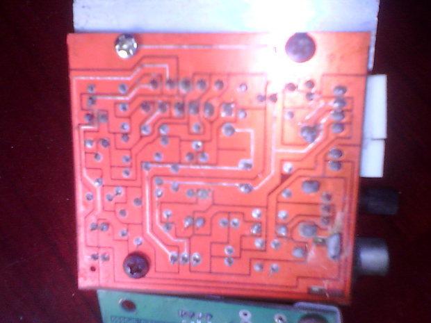 老式12伏低音炮功放板怎么接线呀 高清图片