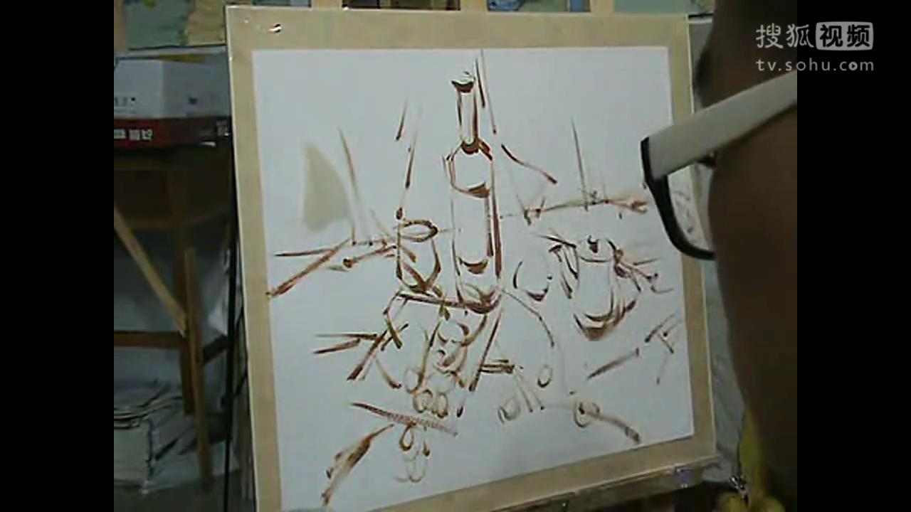 儿童水粉画入门教程-水彩画技法入门