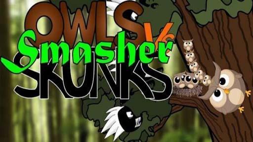 《 愤怒的猫头鹰 Smasher Owls vs Skunks 》截图欣赏