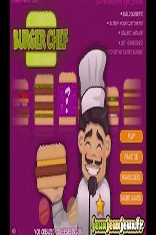 《 汉堡厨师 》截图欣赏