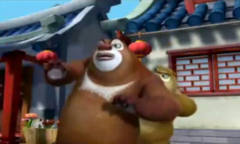 《 熊出没之环球大冒险2 》截图欣赏