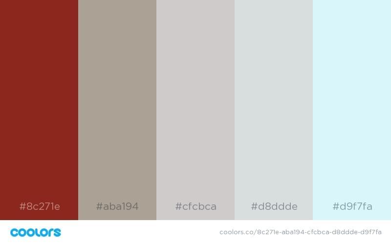 忧郁的配色方案2
