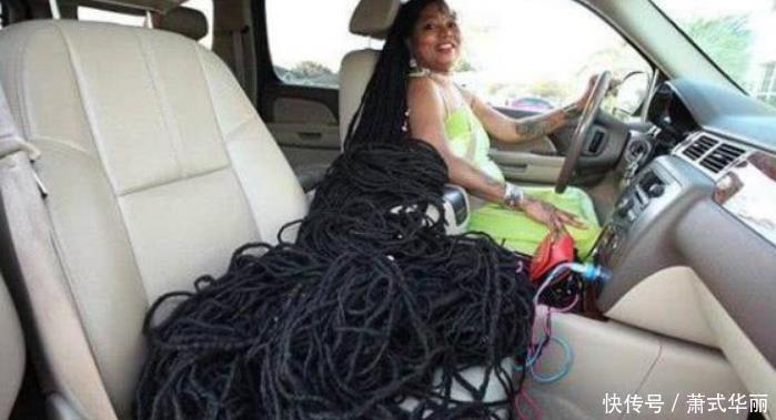 美女拥有世界上最长的头发,40年没剪长17米,网友:怎么洗头发?