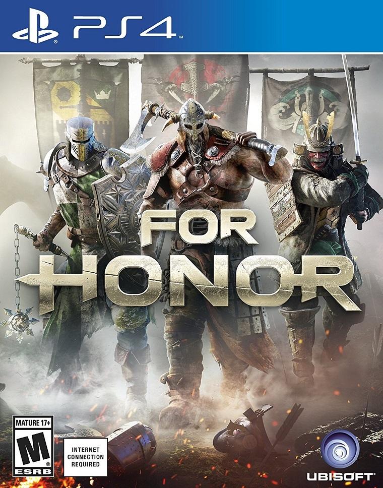 《荣耀战魂》PS4封面