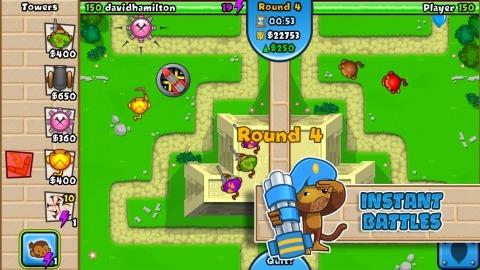 猴子塔防 对战版截图2