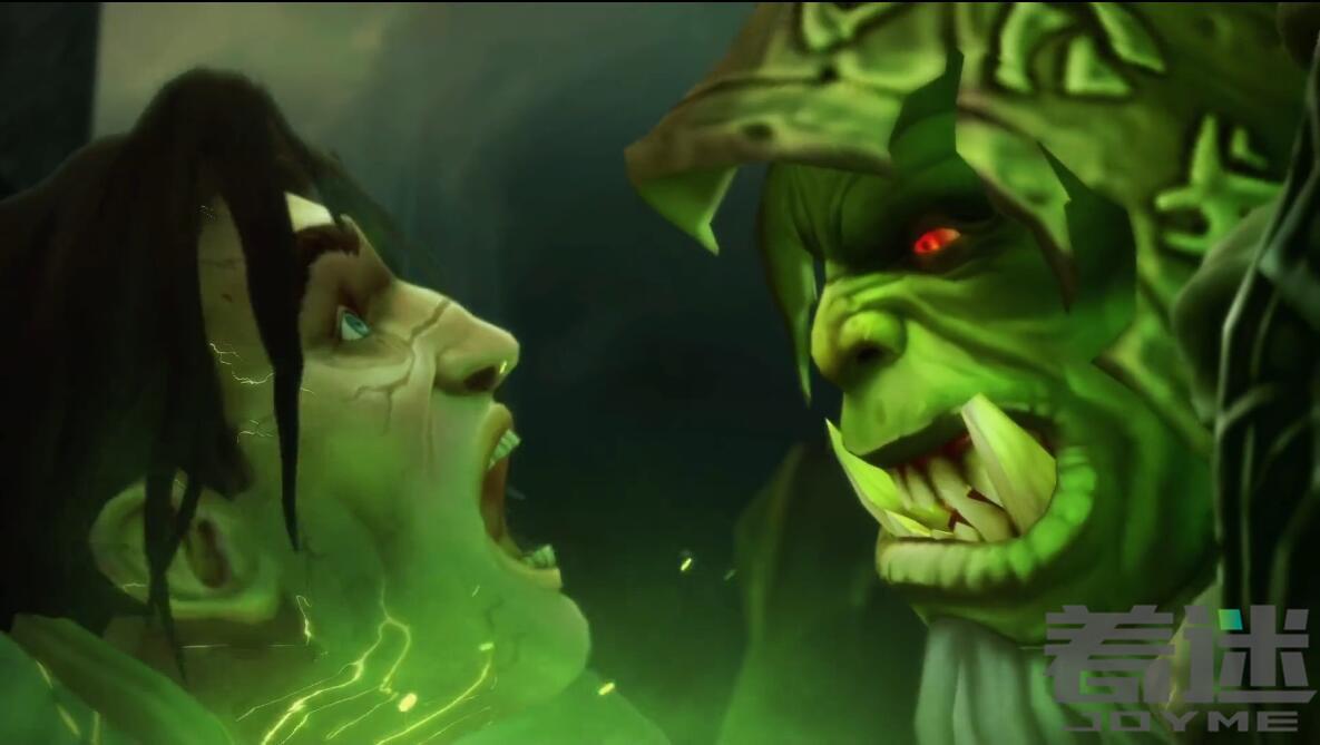 《魔兽世界》7.0军团前夕瓦王之死