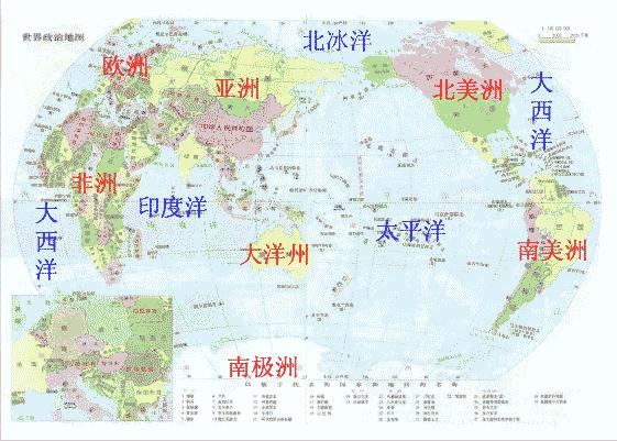 俄罗斯纬度地图