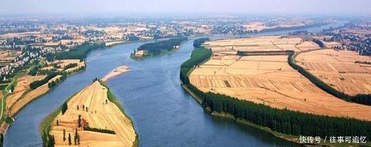 万里长江第三十二镇--枝江,长江被分成了树枝状,楚文化发祥地