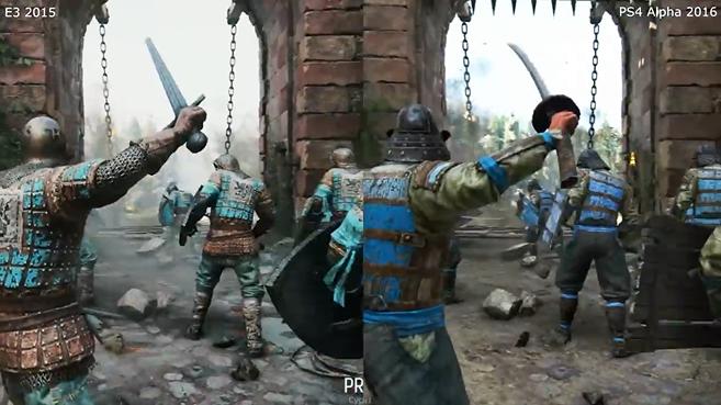 《荣耀战魂》E3预告片和A测画面对比