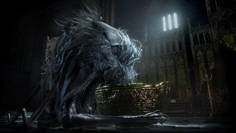 《黑暗之魂3》DLC阿里安德尔的灰游戏画面