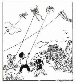 看图写话范文春天放风筝五月的青岛教案图片