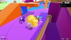 《糖豆人》首日即见作弊玩家?超级速度超级跳第一视角