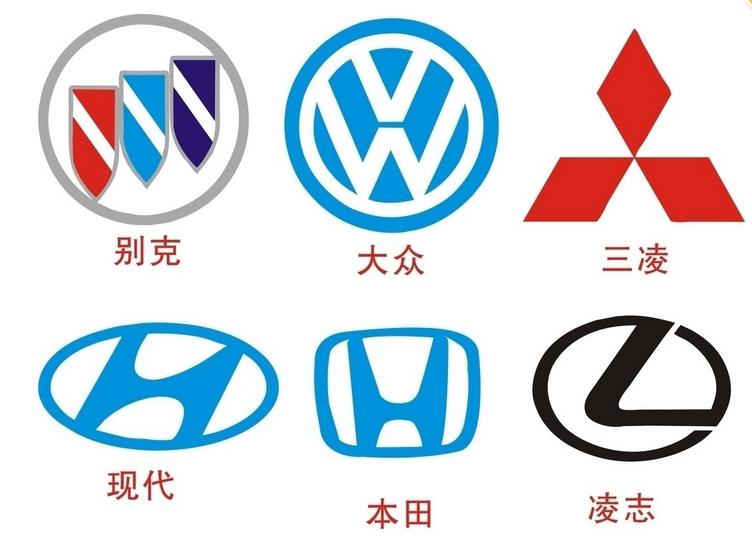 [1]汽车标志是指各种汽车品牌的标志