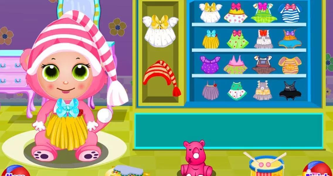 游戏和其他可爱的宠物宝宝关爱游戏和宝宝装扮游戏