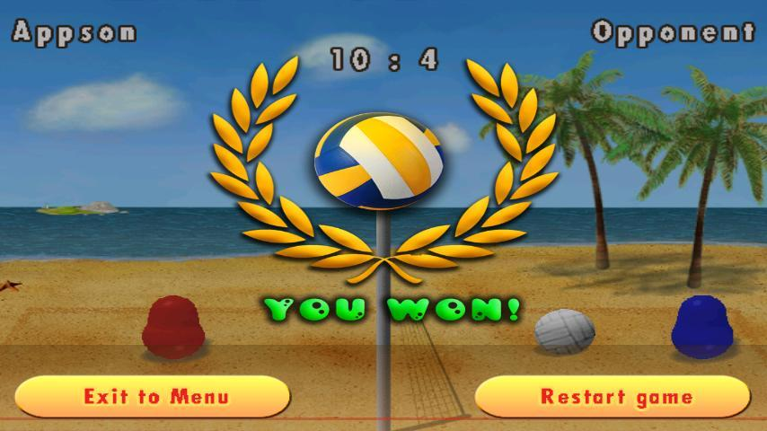 《 波比排球 Blobby Volleyball 》截图欣赏