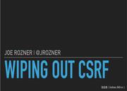 【技术分享】让我们一起来消灭CSRF跨站请求伪造(上)