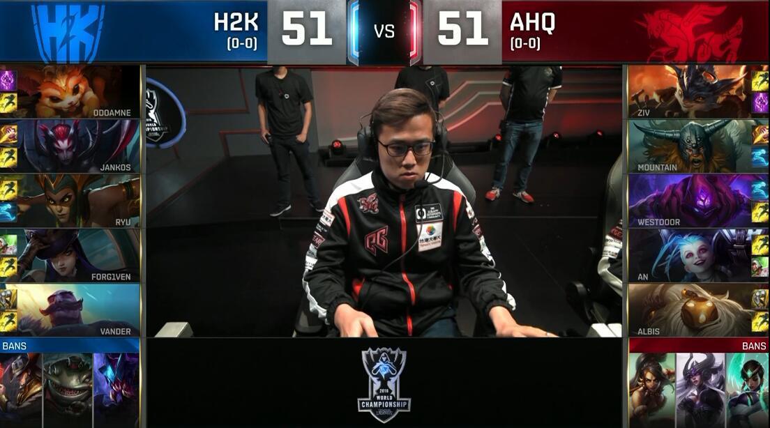 AHQ鏖战四十分钟击败H2K