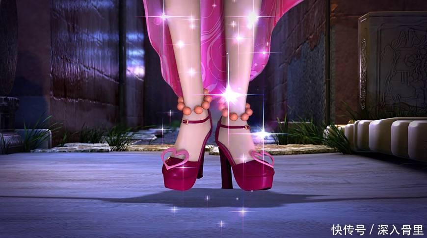 叶罗丽战士的服饰,王默的高跟鞋,建鹏的迷你裙,真适合图片