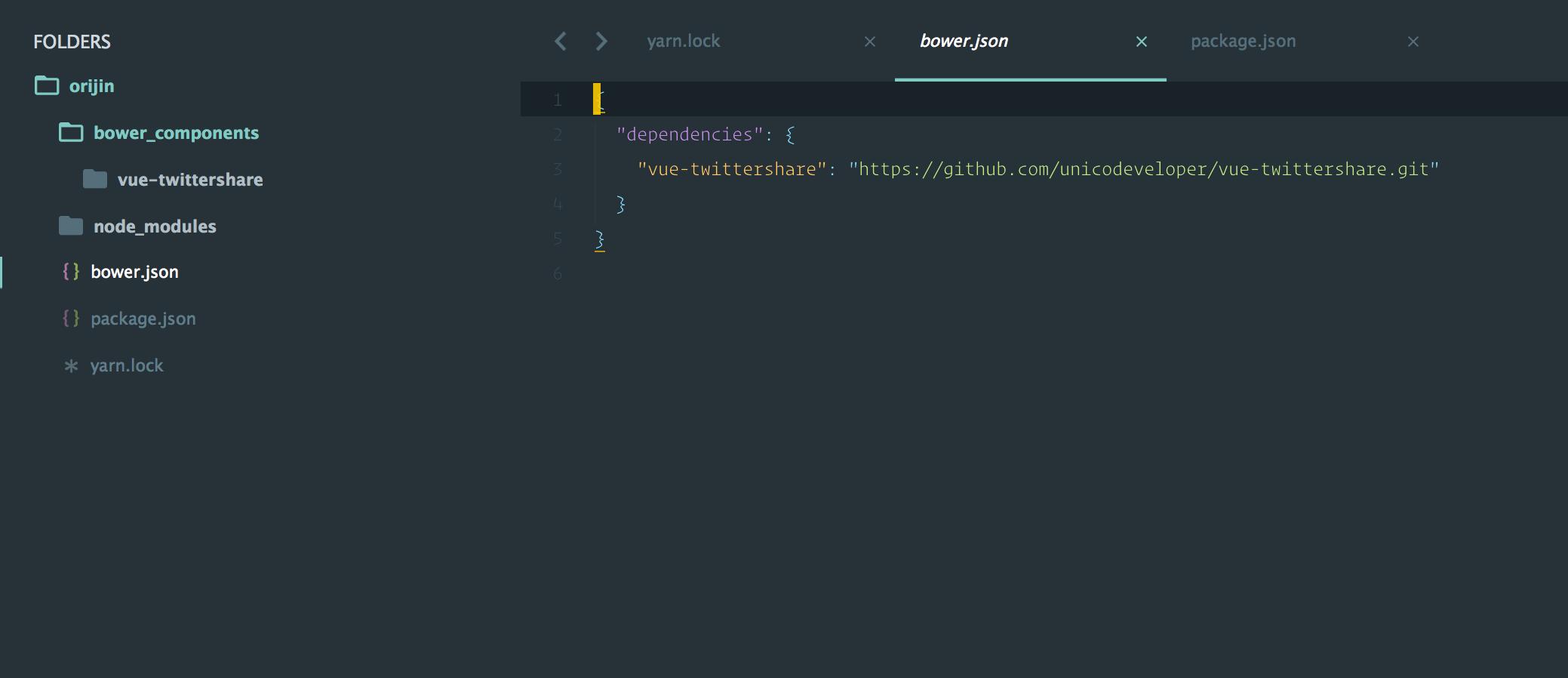 Yarn 检测到在 bower 源存在 Github Rep