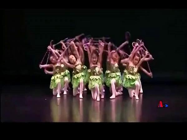幼儿园舞蹈大全视频 2015六一幼儿舞蹈教学大眼睛