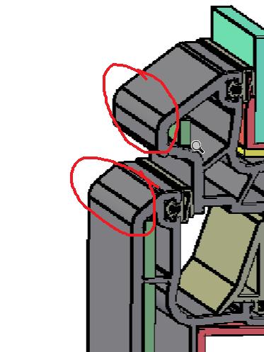 cad三维取消打印倒圆角的线_360问答cad侧视图图片