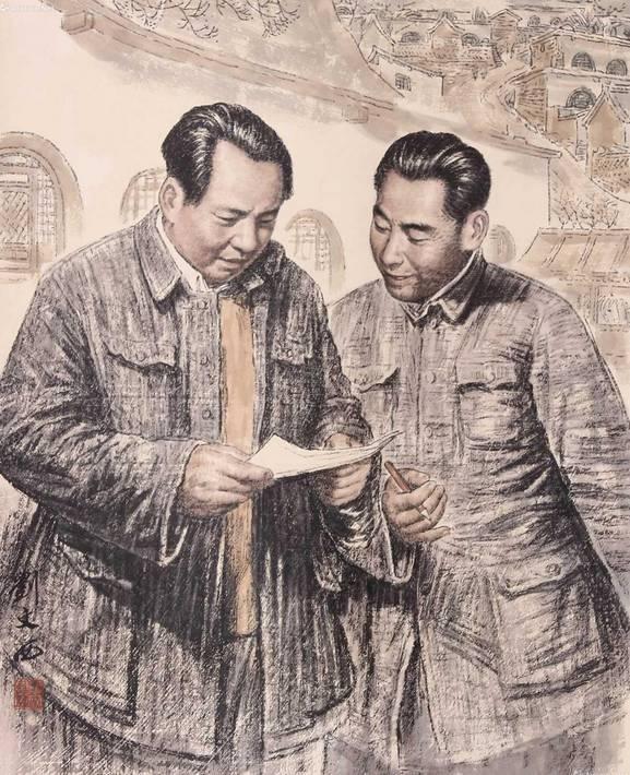 人民币与刘文西 - 绿微翡翠 - 翡翠绿莲