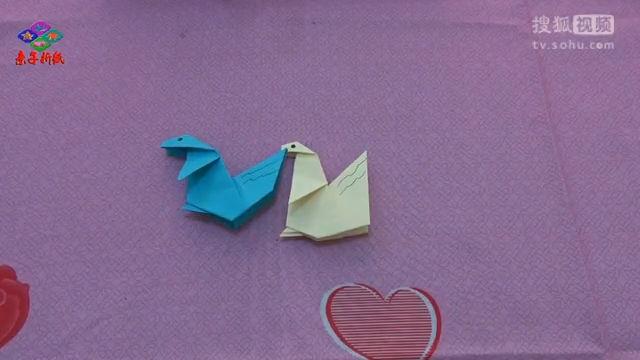 可爱的小松鼠-儿童折纸视频教程大全-亲子折纸
