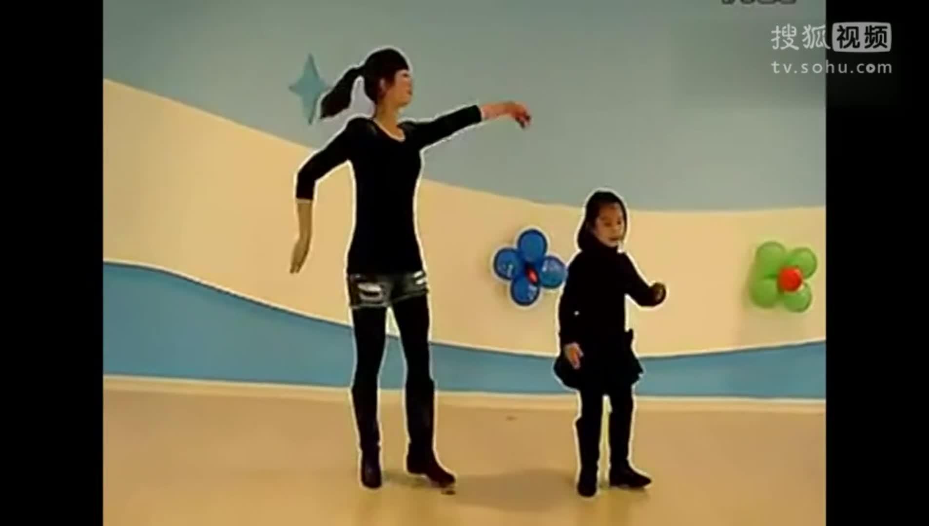 亲子操舞蹈视频