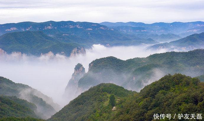 河南云台山风景区简介图片