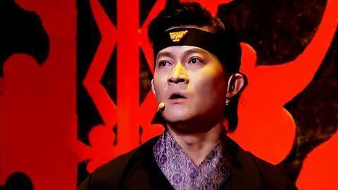杨树林 杨志刚 跨界演喜剧版《荆轲刺秦王》