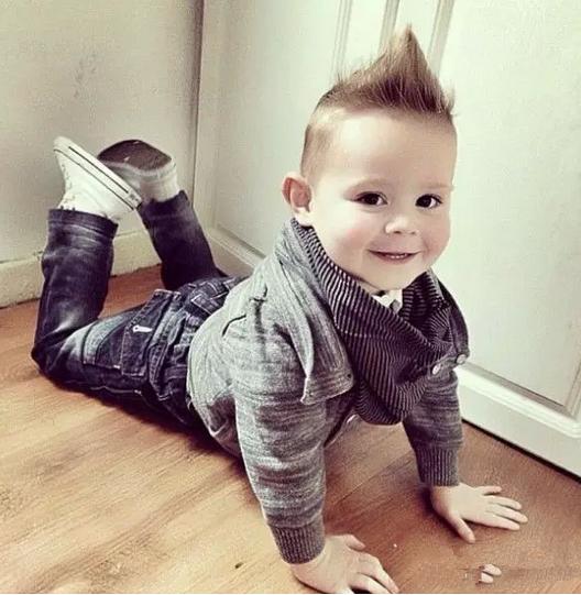一岁男宝宝夏天发型分享展示