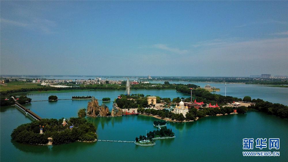 安徽省颍上县八里河风景