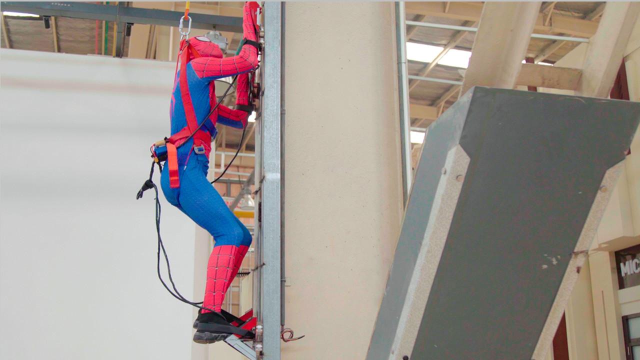 自制5毛蜘蛛侠攀爬器,飞檐走壁拯救世界!
