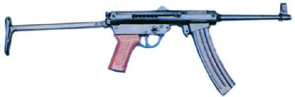 微型冲锋_简介 82式9毫米微型冲锋枪是仿制波兰的wz63式9毫米微型冲锋枪的产品