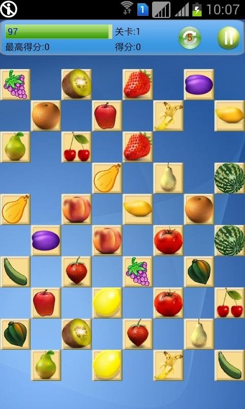《 水果连连看HD 》截图欣赏