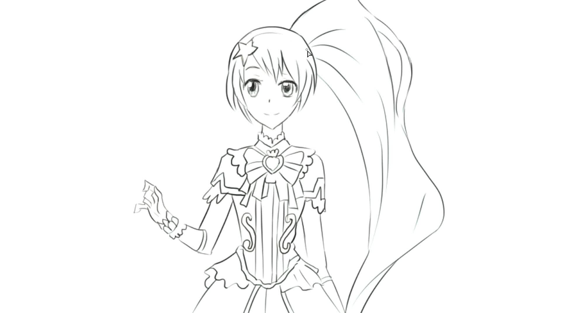 绘画动画片 小公主苏菲亚