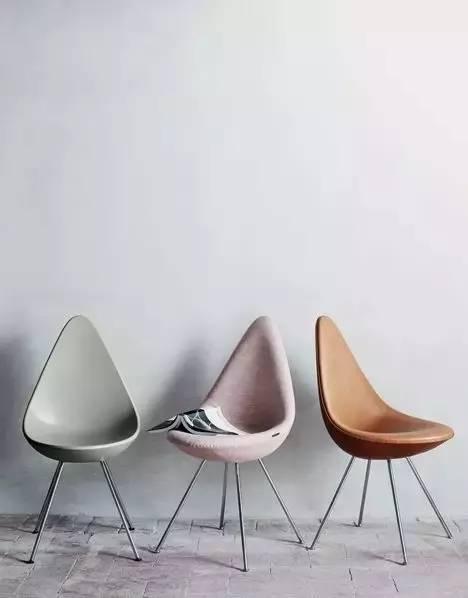 arne jacobsen阿诺雅各布森设计的水滴椅