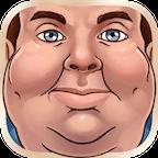 矮胖的面孔