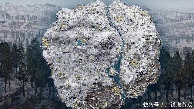 绝地求生:雪地图好用的物资,消音器排第二,它意外克制伏地魔