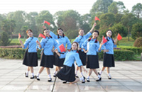 奉新红梅舞队《绣红旗》